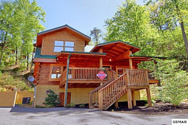 """633 Chickasaw Gap Way """"Campbell's Cab, Pigeon Forge, TN 37863 (#207367) :: Colonial Real Estate"""
