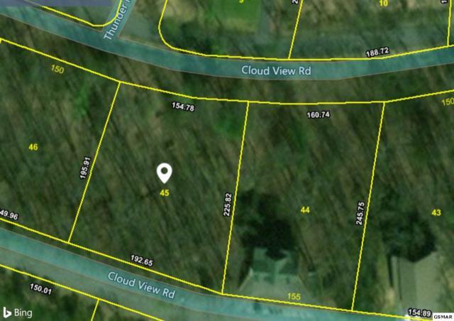 Lot 45 Cloud View Dr, Sevierville, TN 37862 (#215062) :: Four Seasons Realty, Inc