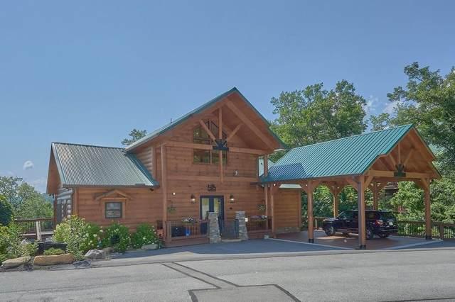 1006 Majestic Point Way, Gatlinburg, TN 37738 (#243852) :: Colonial Real Estate