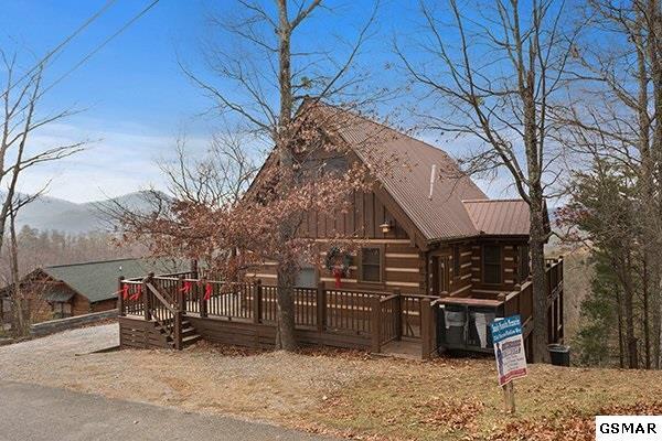 "2541 Raccoon Hollow Way ""Smoky Mountain, Sevierville, TN 37862 (#214047) :: Colonial Real Estate"