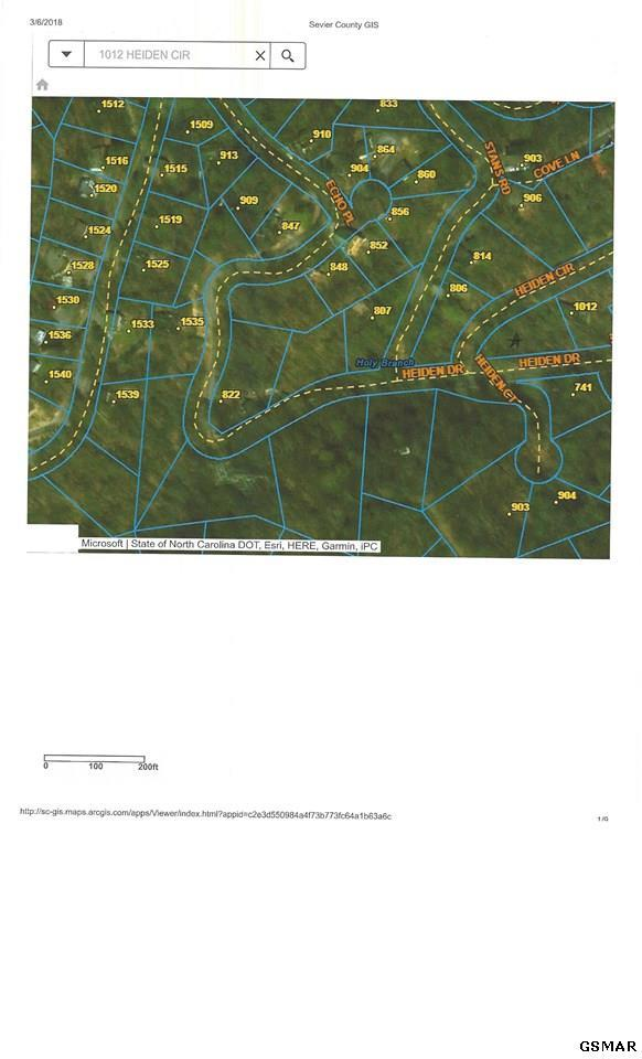LOT 19 Heiden, Gatlinburg, TN 37738 (#214831) :: Colonial Real Estate