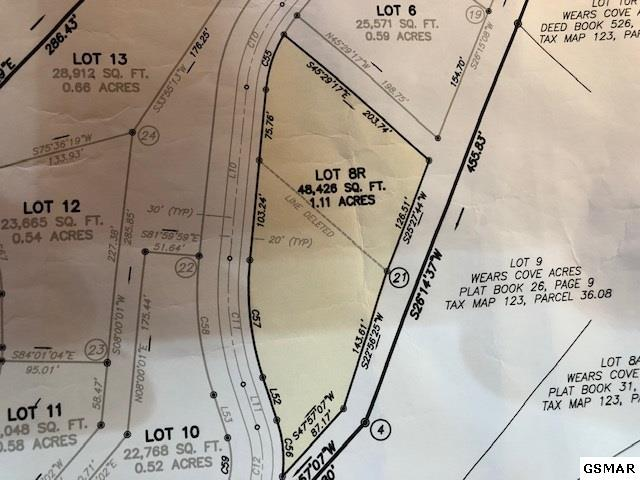 Lot 8-R Teaberry Mountain Ln, Sevierville, TN 37862 (#219033) :: The Terrell Team