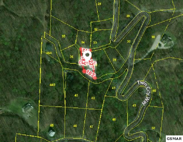 Lot 34 Twin City Way, Pigeon Forge, TN  (#219454) :: SMOKY's Real Estate LLC
