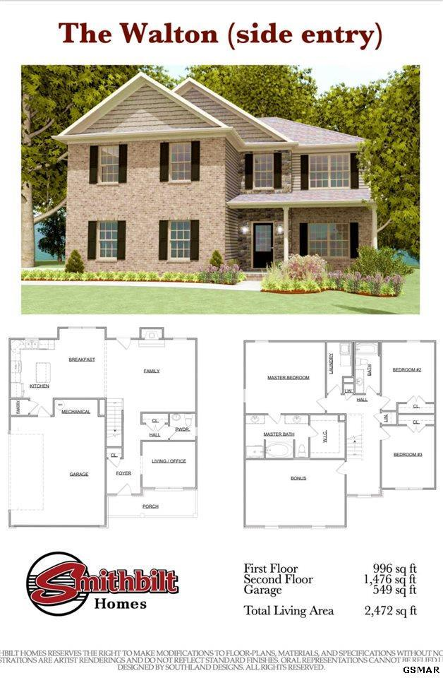 223 Bluff Shadows Ln., Seymour, TN 37865 (#221024) :: Colonial Real Estate