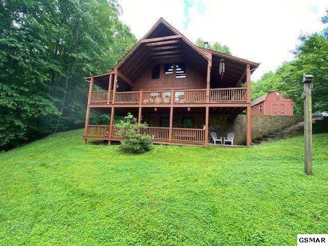 2449 Shady Creek Way Aka 1522 Bench , Sevierville, TN 37876 (#228501) :: Prime Mountain Properties