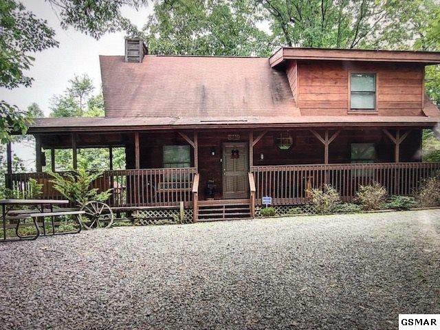 "2460 E View Drive ""OUTBACK"", Sevierville, TN 37876 (#227392) :: Colonial Real Estate"