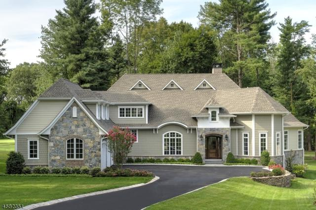 14 Brady Dr West, Peapack Gladstone Boro, NJ 07934 (MLS #3267658) :: The Dekanski Home Selling Team