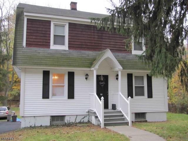 60 Budd St, Morristown Town, NJ 07960 (MLS #3371841) :: The Dekanski Home Selling Team