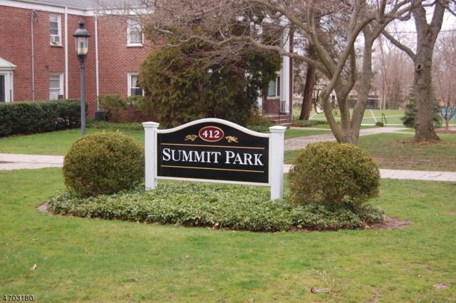 412 Morris Ave, Unit 34 #34, Summit City, NJ 07901 (MLS #3377810) :: The Dekanski Home Selling Team