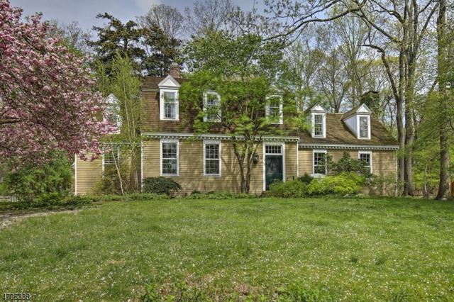 40 Overleigh Rd, Bernardsville Boro, NJ 07924 (MLS #3388096) :: The Dekanski Home Selling Team