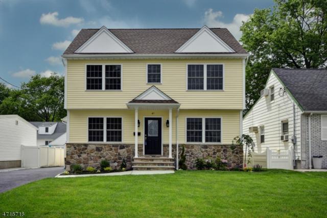 61 S 19th St, Kenilworth Boro, NJ 07033 (MLS #3392421) :: The Dekanski Home Selling Team
