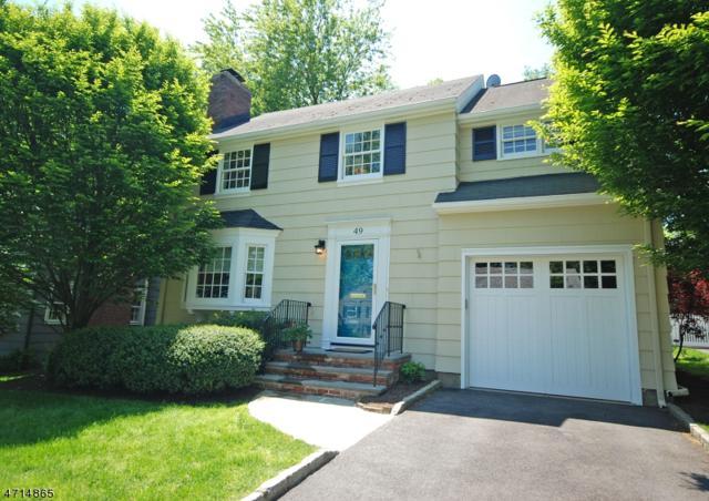 49 Meadowbrook Rd, Chatham Boro, NJ 07928 (MLS #3398815) :: The Sue Adler Team