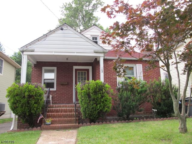 103 High St, Cranford Twp., NJ 07016 (#3403511) :: Daunno Realty Services, LLC