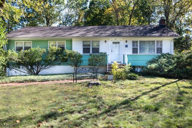 23 Pleasant Valley Rd, Hanover Twp., NJ 07981 (MLS #3425776) :: Keller Williams Real Estate