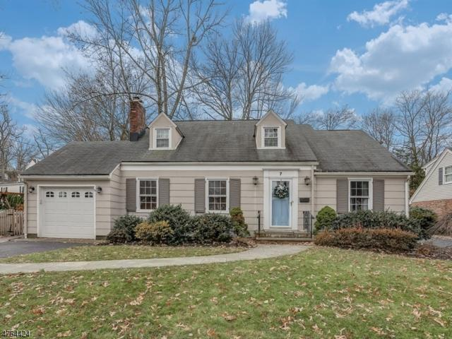 7 Inwood Rd, Chatham Boro, NJ 07928 (MLS #3435561) :: Keller Williams Midtown Direct