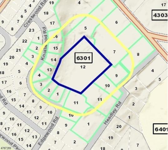 0 Edgewood Rd, Morristown Town, NJ 07960 (MLS #3455018) :: The Sikora Group