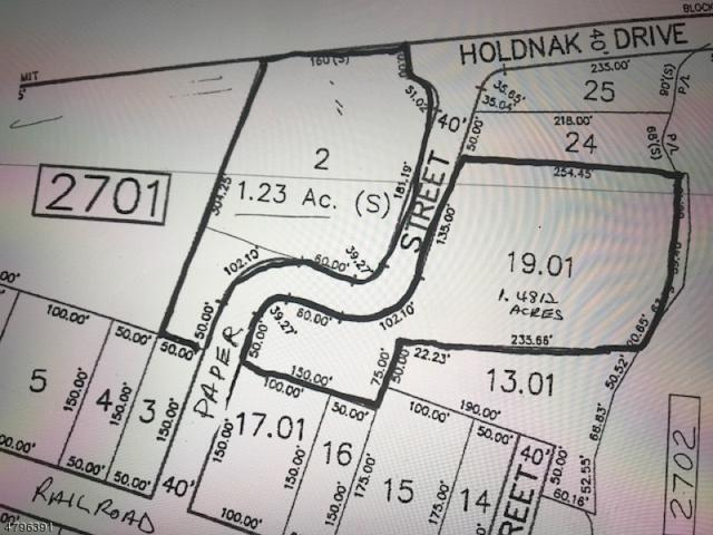 0 Halsey St, Roxbury Twp., NJ 07847 (MLS #3463551) :: SR Real Estate Group