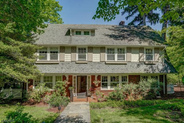 315 Highland Ave, Montclair Twp., NJ 07043 (MLS #3472845) :: Zebaida Group at Keller Williams Realty