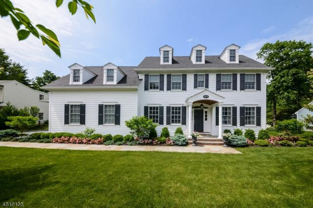 7 Whitman Dr, Chatham Twp., NJ 07928 (MLS #3479061) :: SR Real Estate Group