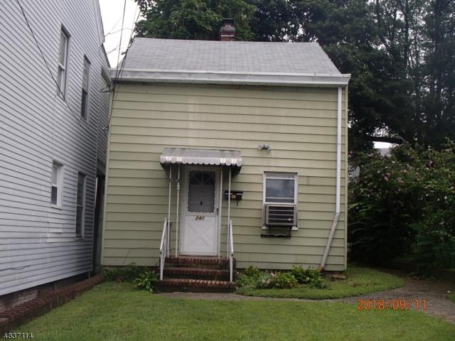 241 Sussex St, Paterson City, NJ 07503 (MLS #3501713) :: William Raveis Baer & McIntosh