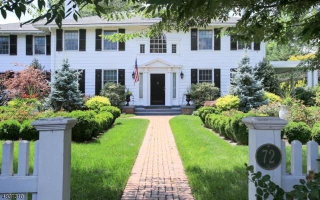 72 Glenwild Rd, Madison Boro, NJ 07940 (MLS #3501870) :: SR Real Estate Group
