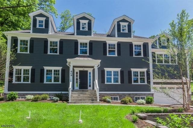 609 Fairmount Ave, Chatham Twp., NJ 07928 (MLS #3502953) :: The Sikora Group