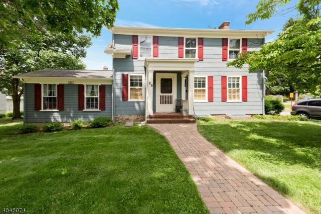 26 Mills St, Morristown Town, NJ 07960 (MLS #3508729) :: SR Real Estate Group