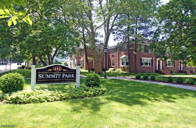 412 Morris Ave Unit 39 #39, Summit City, NJ 07901 (MLS #3510027) :: Coldwell Banker Residential Brokerage