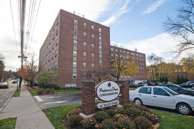 465 Valley St 7K, Maplewood Twp., NJ 07040 (MLS #3513174) :: Zebaida Group at Keller Williams Realty