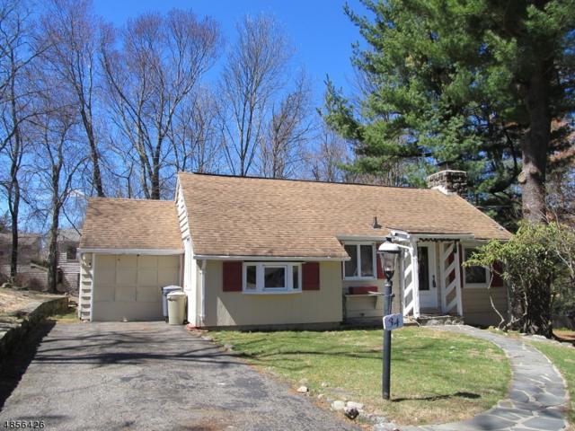 34 Shawnee Trl, Sparta Twp., NJ 07871 (MLS #3519319) :: SR Real Estate Group