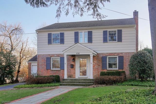 538 Colonial Ave, Westfield Town, NJ 07090 (MLS #3520348) :: Coldwell Banker Residential Brokerage