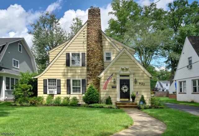 927 Boulevard, Westfield Town, NJ 07090 (MLS #3524770) :: The Sue Adler Team