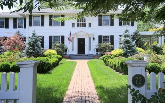 72 Glenwild Rd, Madison Boro, NJ 07940 (MLS #3529513) :: SR Real Estate Group