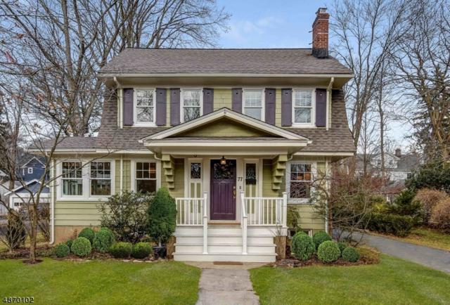 77 Tuscan Rd, Maplewood Twp., NJ 07040 (MLS #3531698) :: Coldwell Banker Residential Brokerage