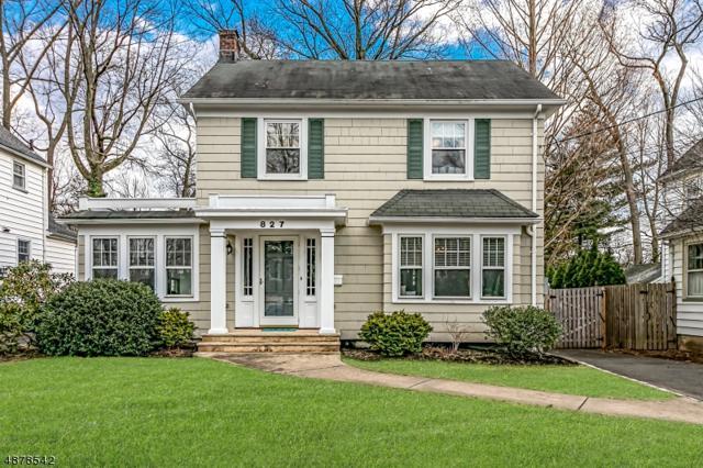 827 Dorian Rd, Westfield Town, NJ 07090 (MLS #3540563) :: The Dekanski Home Selling Team