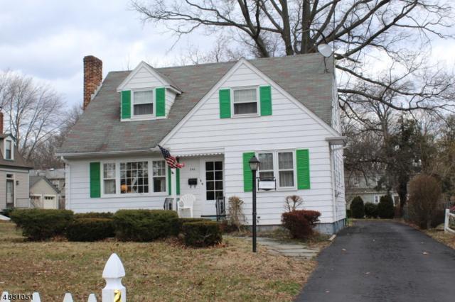 243 Walnut Ave, Cranford Twp., NJ 07016 (#3541386) :: Daunno Realty Services, LLC