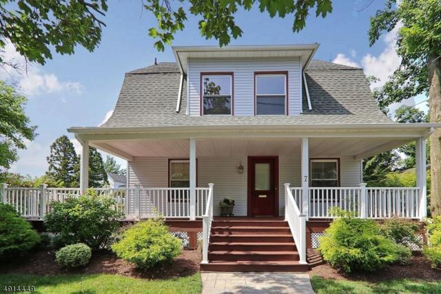 7 Claremont Pl, Cranford Twp., NJ 07016 (#3572714) :: Daunno Realty Services, LLC