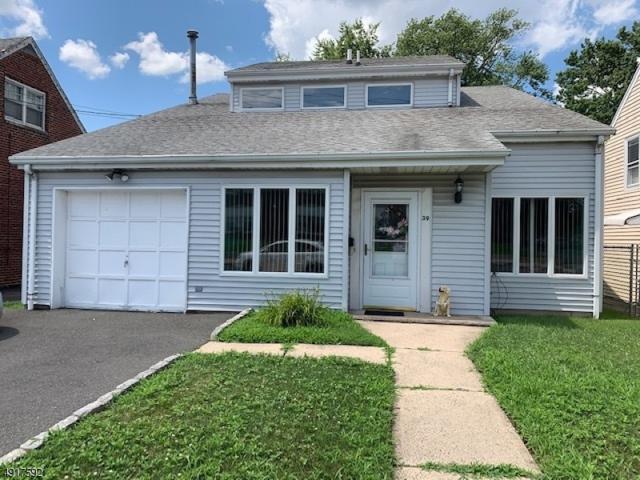 39 Passaic Ave, Belleville Twp., NJ 07109 (MLS #3575488) :: William Raveis Baer & McIntosh