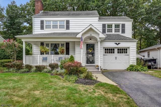 33 Estelle Ln, Fanwood Boro, NJ 07023 (MLS #3587059) :: The Dekanski Home Selling Team