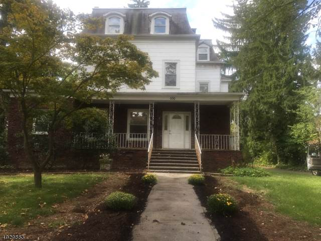 530 Westfield Ave, Westfield Town, NJ 07090 (MLS #3587360) :: The Sue Adler Team