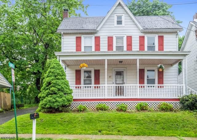 47 Brunswick Ave, Bloomsbury Boro, NJ 08804 (#3587790) :: Jason Freeby Group at Keller Williams Real Estate