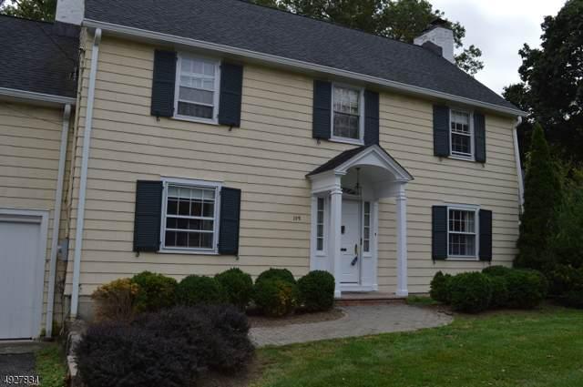 109 Fairmount Avenue, Chatham Boro, NJ 07928 (MLS #3592089) :: Zebaida Group at Keller Williams Realty