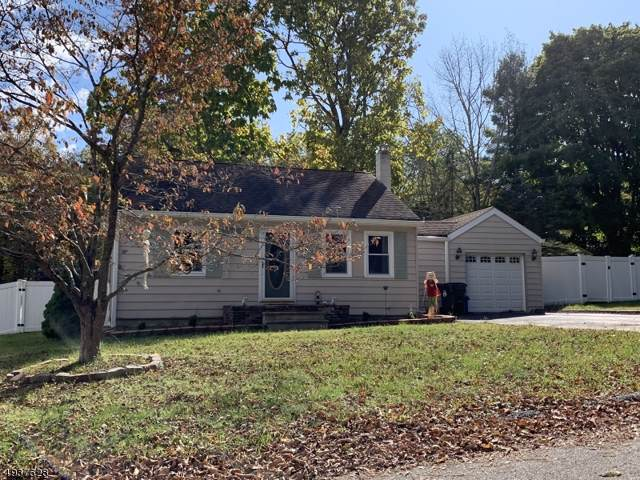 21 Pine St, Mount Olive Twp., NJ 07828 (MLS #3594075) :: The Douglas Tucker Real Estate Team LLC