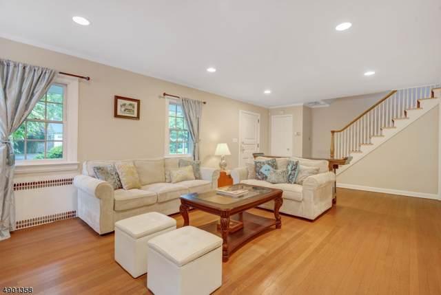 19 Oak Hill Rd, Millburn Twp., NJ 07078 (MLS #3594098) :: William Raveis Baer & McIntosh