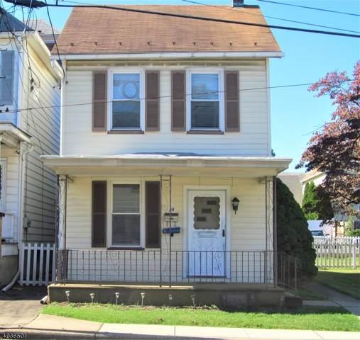 54 Miller St, Phillipsburg Town, NJ 08865 (MLS #3594525) :: SR Real Estate Group