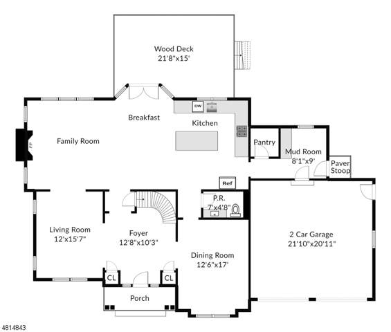 5 Couch Court, Allendale Boro, NJ 07401 (MLS #3595081) :: The Sue Adler Team