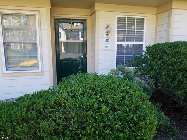 30 Cadence Ct, Morris Twp., NJ 07960 (MLS #3595116) :: The Douglas Tucker Real Estate Team LLC