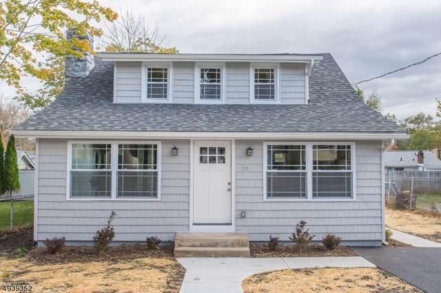 16 Navajo Ave, Parsippany-Troy Hills Twp., NJ 07034 (MLS #3595522) :: The Douglas Tucker Real Estate Team LLC