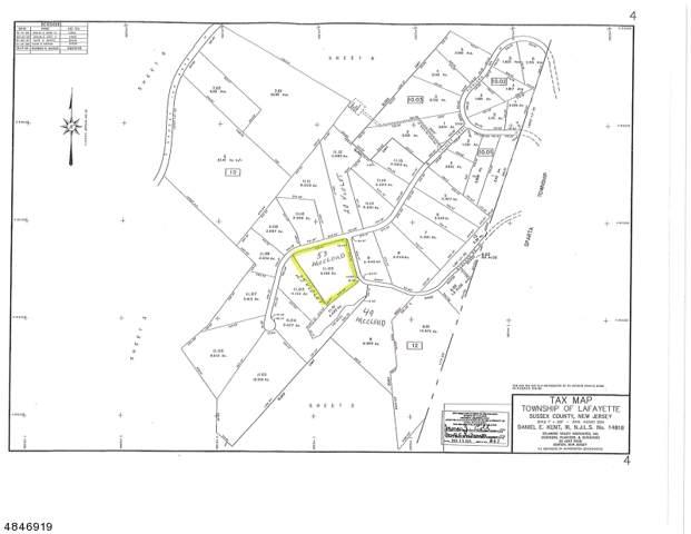 53 Mccloud Rd, Lafayette Twp., NJ 07848 (MLS #3596751) :: Weichert Realtors