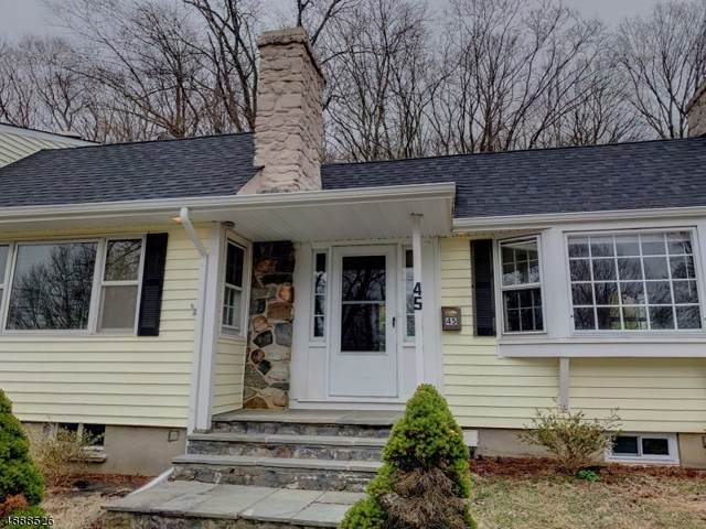45 Summit Trl, Sparta Twp., NJ 07871 (MLS #3599374) :: The Dekanski Home Selling Team
